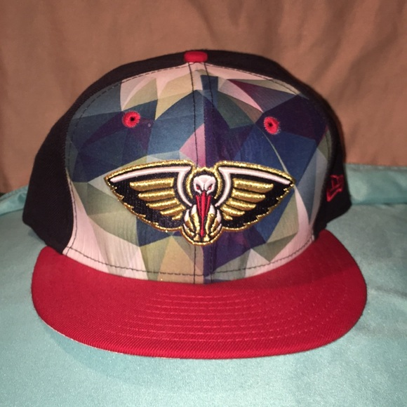 New Orleans Pelicans New Era Fitted Hat 7 1 2 Nwt